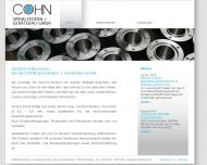 Bild Cohn Spiralfedern und Gerätebau GmbH