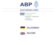 Bild Webseite ABP Maschinenbau Magdeburg Magdeburg