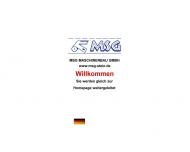 Bild Webseite MSG Maschinenbau Tornesch