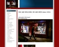 Bild Webseite Bertrand Alexander Berufskleidung München