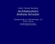 Bild Schuster Andreas Freier Architekt