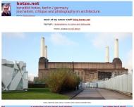 Bild Webseite Hotze Benedikt Berlin