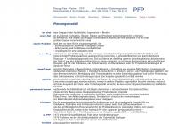 Bild Webseite Planung Fahr u. Partner Architektur München