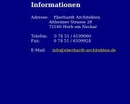 Bild Webseite  Horb am Neckar