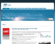 Bild Webseite SEAC ICR SYSTEME Konstanz