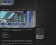 RIWA Aufzugstechnik - Das Unternehmen