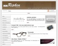 Website Ripken Augenoptikermeister