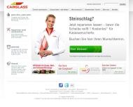 Bild Webseite Carglass Reutlingen
