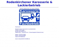 Bild Engels Dirk Rodenkirchener Karosserie & Lakierbetrieb