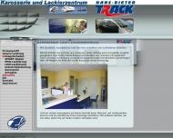 Website Boers Autolackiererei