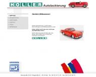 Bild Autolackierung Holler