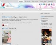 Bild Automatenaufsteller Ayvaz Automaten