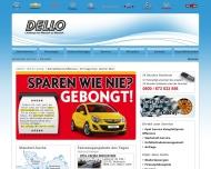 Bild Webseite Dello Ernst Hamburg
