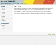 Website Friedl Günter KFZ-Meisterbetrieb