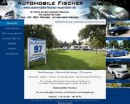 Bild Webseite Fischer Ralf Automobile München