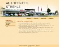 Bild Webseite Autocenter Strehle Dresden