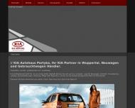 Bild Webseite Partyka Thaddäus Autohaus Wuppertal