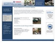 Bild Webseite Automobile Reinhold Möller Hamburg