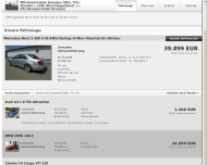 Website MD-Automobile Dresden