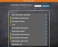 Bild Webseite Eckhoff Automobile Neuwagen-Discount Hamburg
