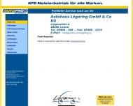 Bild Webseite Autohaus Lögering Spelle