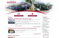 Website Wegener Automobile