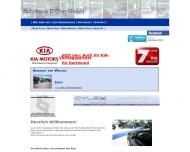 Bild Webseite D. Ehm Service Dortmund