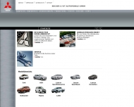 Bild Webseite Becker & Vit - Automobile Bremen