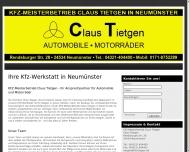 Bild Tietgen Claus KFZ-Meisterbetrieb