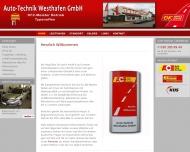 Bild Webseite Auto-Technik Westhafen Berlin