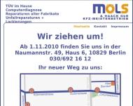 Bild Webseite Möls Detlef Berlin