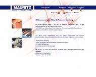 Bild Webseite Mauritz Hamburg