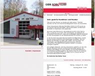 Website Gebr. Bornfelder