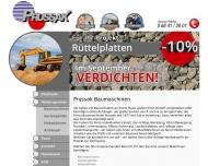 Bild Webseite  Homburg