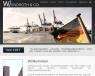 Bild Webseite Wendroth Hamburg