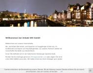 Bild Webseite Arbabi DIH Hamburg