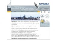 Bild Webseite Elbtrade Im- und Export Hamburg