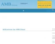 Bild Webseite AMB Diesel-Elektrik Hamburg