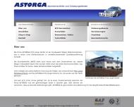 Website ASTORGA Fritz Lange