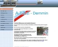 Bild Webseite  Demmin