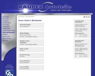 Website Rauber Autoteile