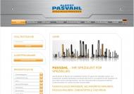 Bild Webseite Pasvahl Hamburg