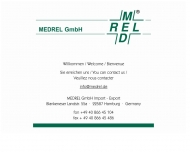 Bild Webseite MEDREL Hamburg
