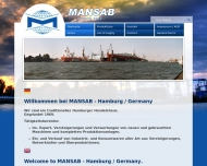 Bild Webseite MANSAB Manfred Schnittka Hamburg
