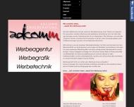 Bild Webseite adcomm Ruis Manfred Durlangen
