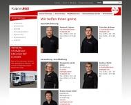 Website Kuhner Autovermietung