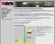 Bild Wehrle GmbH Autovermietung