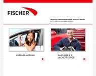 Bild Webseite Autovermietung Fischer Wuppertal