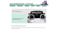 Bild Webseite Töller Europa Service Autovermietung Köln