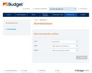 Bild Webseite Budget Autovermietung Magdeburg